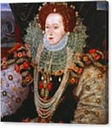 Queen Elizabeth I, C1588 Canvas Print