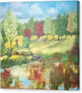 Queen Elizabeth Park Canvas Print