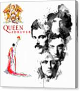 Queen Forever Remix II Canvas Print