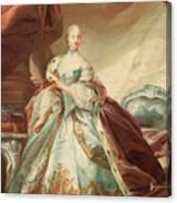 Queen Juliane Marie Of Denmark Canvas Print