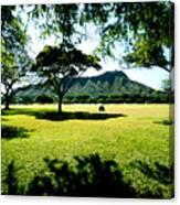 Queen Kapiolani Park Canvas Print