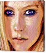Queen Lavigne Canvas Print