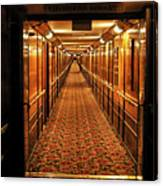 Queen Mary Hallway Canvas Print
