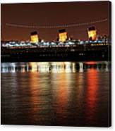 Queen Mary Panorama  Canvas Print