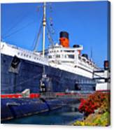 Queen Mary Ship Canvas Print