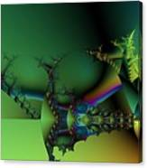 Queen Of Green Canvas Print