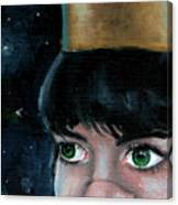 Queen Of Space Canvas Print