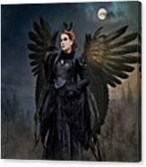 Queen Raven Canvas Print