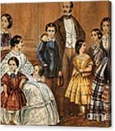 Queen Victoria, Prince Albert Canvas Print