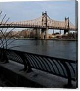 Queensboro Bridge, Nyc Canvas Print