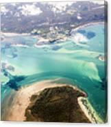 Queensland Island Bay Landscape Canvas Print