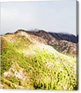 Queenstown Tasmania Wide Mountain Landscape Canvas Print