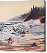 Quensland Beach Canvas Print