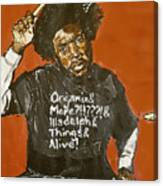 Questlove Canvas Print