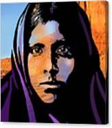 Quhatika Girl Canvas Print