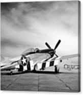 Quick Silver P-51 Canvas Print