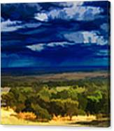 Quiet Before The Storm Canvas Print