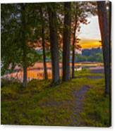 Quiet Evening, Pocono Canvas Print