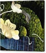 Quiet Garden Canvas Print