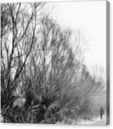 Quiet - Impressionist Street Photography Canvas Print