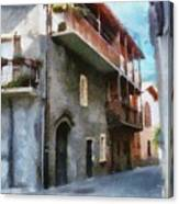 Quiet In Almenno San Salvatore Canvas Print