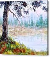 Quiet Inlet Canvas Print
