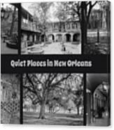 Quiet New Orleans Canvas Print