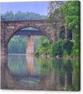Quiet River Canvas Print