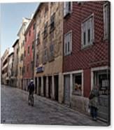 Quiet Street In Rovinj - Croatia Canvas Print