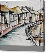 Quiet Streets Canvas Print