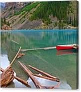 Moraine Lake I, Alberta Canvas Print