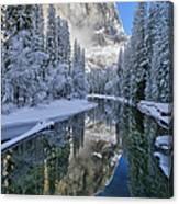 Quiet Winter Morning Canvas Print