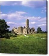 Quin Abbey, Quin, Co Clare, Ireland Canvas Print