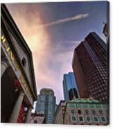 Quincy Market Sky Canvas Print
