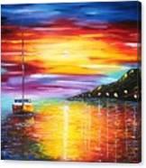 Quite Harbor Canvas Print