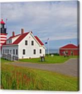 Quoddy Head Lighthouse Canvas Print