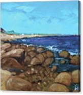 Quonocontaug West Beach Canvas Print
