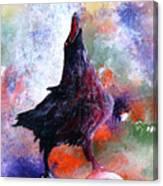 Quothe The Raven Canvas Print
