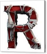 R Is Rock N Roll Canvas Print