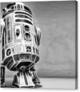 R2 Feeling Lonely Canvas Print