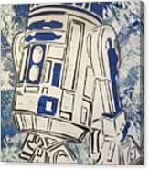R2d2'd Canvas Print