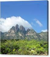 Organ Mountains Rabbit Ears Canvas Print