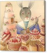 Rabbit Marcus The Great 01 Canvas Print