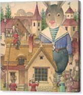 Rabbit Marcus The Great 16 Canvas Print