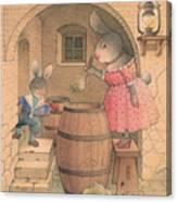 Rabbit Marcus The Great 20 Canvas Print
