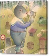 Rabbit Marcus The Great 25 Canvas Print