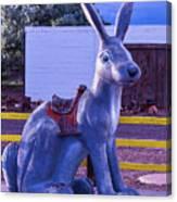 Rabbit Ride Route 66 Canvas Print