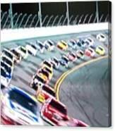 Race Fan Canvas Print