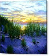 Race Point Dune Sunset Canvas Print