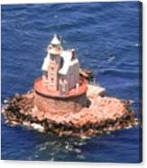 Race Rock Lighthouse Canvas Print